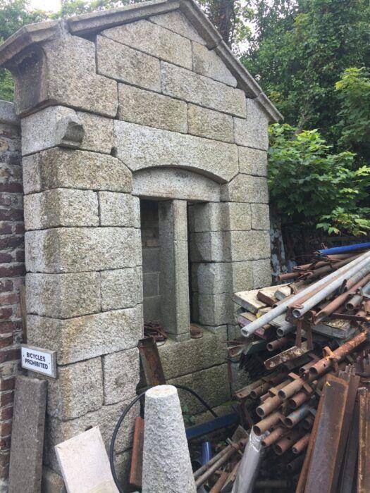 Dublin granite gables