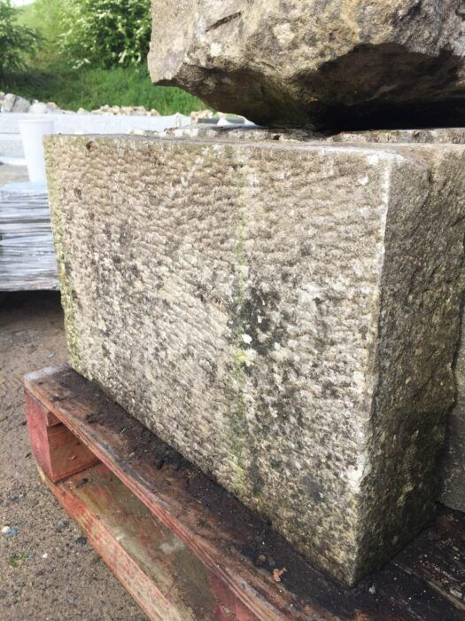 Granite quoins_