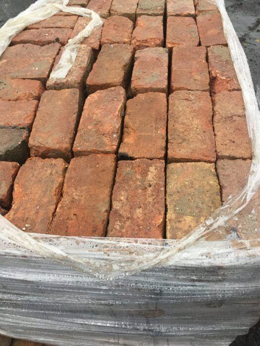 brick rustic red