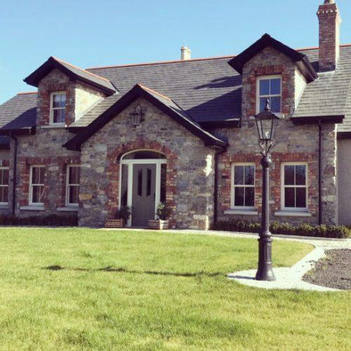 1. Stone house limestone