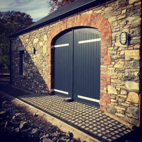 1. cobble entrance