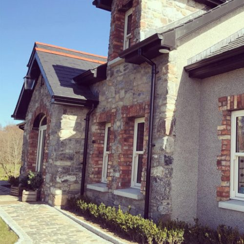 2. Stone house reclaimed limestone