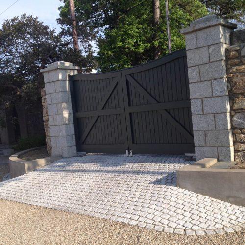 3a. entrance piers _ walls