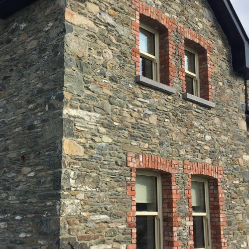 8. Salvage limestone house