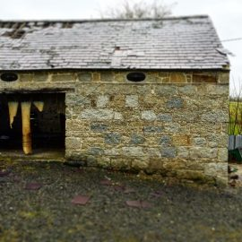 stone outhouse recycle